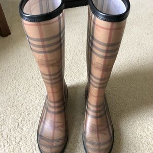 Burberry Women's Rain Boots